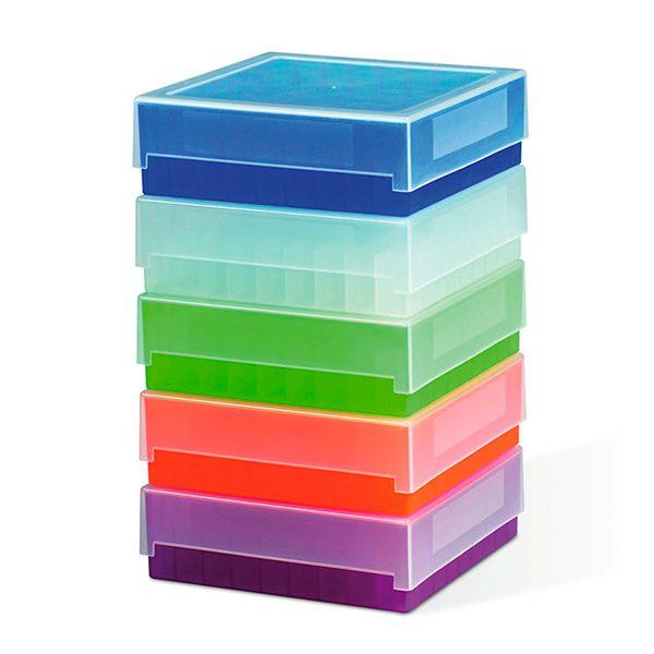 Caja Congelación Plástico 81 viales