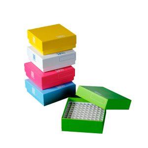 Caja Congelacion carton Colores